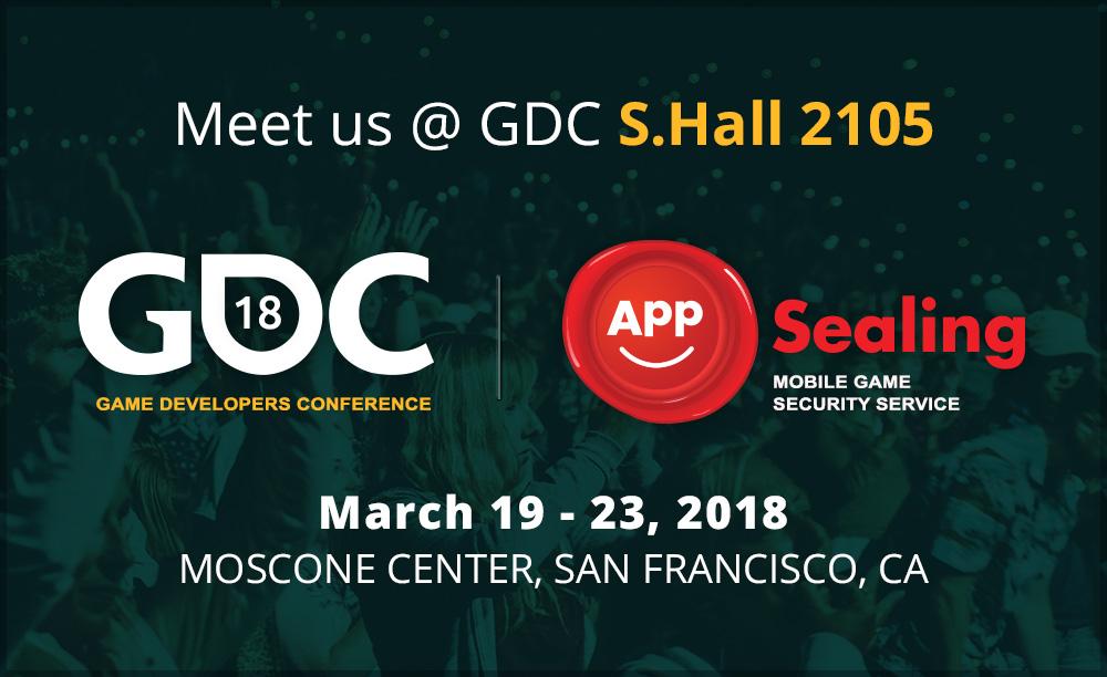 Meet AppSealing at GDC 2018