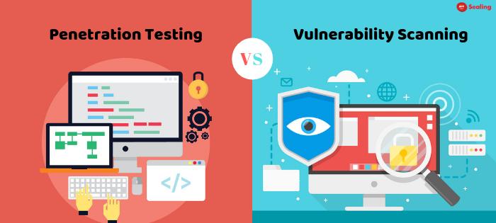 Penetration testing vs Vulnerability scanning