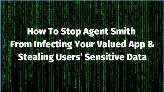 How to Stop Agent Smith