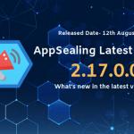 最新バージョンのAppSealing2.17.0.0に更新してください。