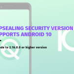 AppSealing security version supports Android 10