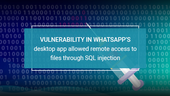 WhatsApp's desktop platform vulnerable to takeover via malicious code injection